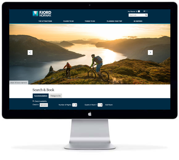 Fjord Norway site