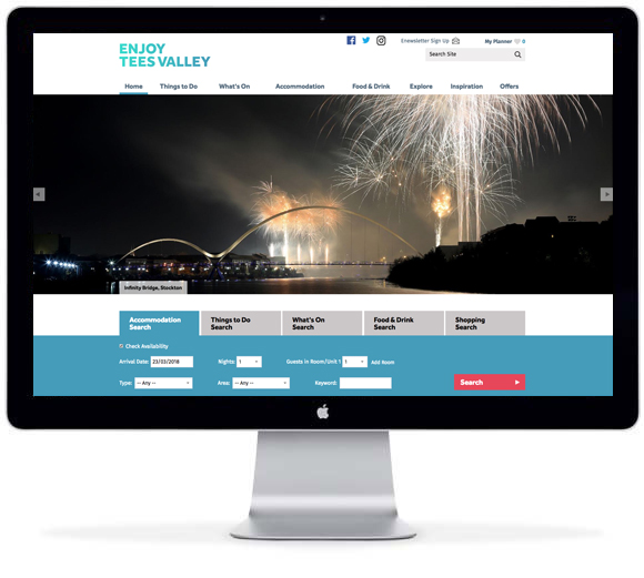 Visit Tees Valley site live