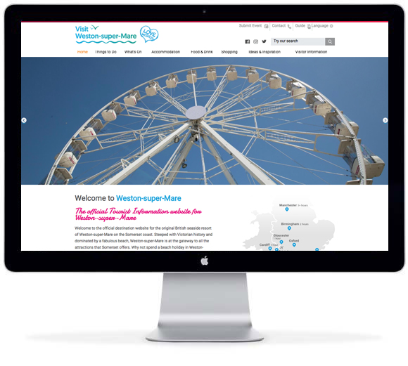 More To Explore In Weston Super Mare Following Site Launch Simpleview Europe