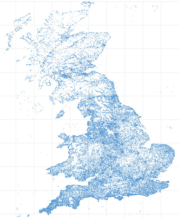 UK tourism dataset