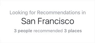 Introducing New Travel Planning Tool, Facebook Recommendations