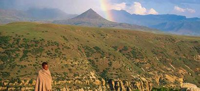 Site for Lesotho, the Kingdom in the Sky goes live...|